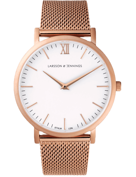 Larsson & Jennings Lugano Rose Gold watch