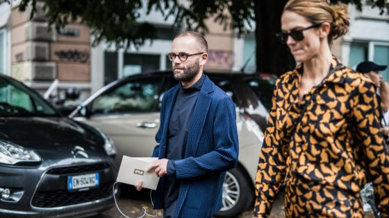 angelo flaccavento during Milan Fashion Week