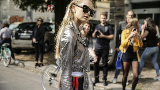 Street Style during Milan Fashion Week