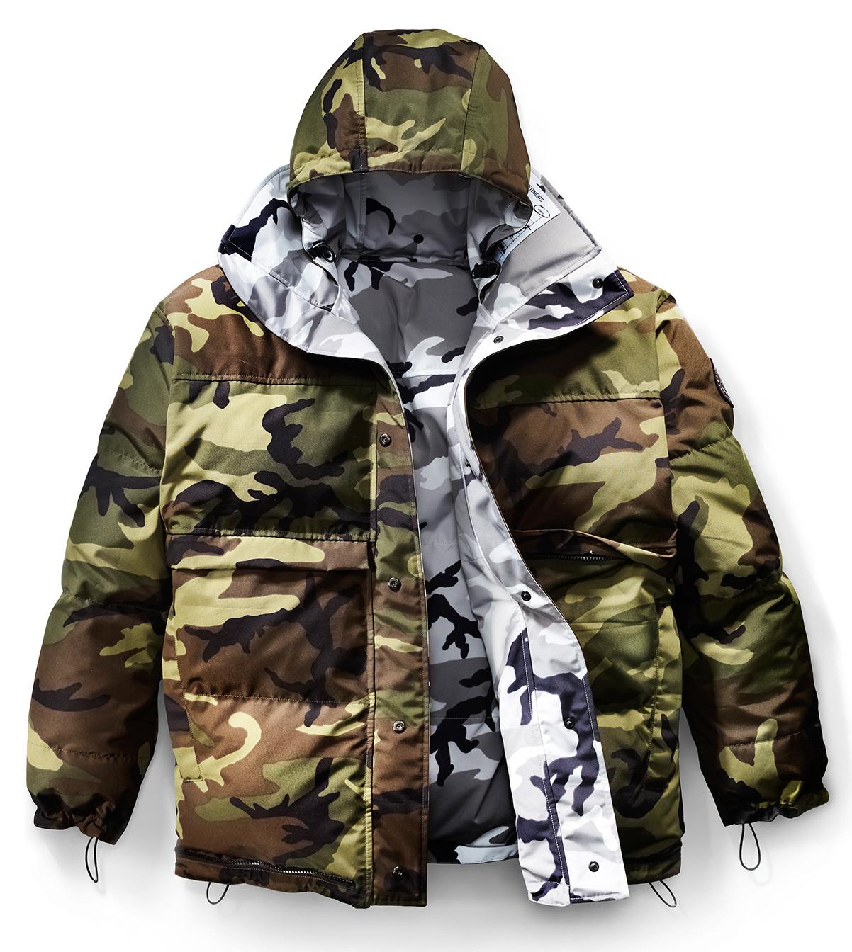 Canada Good X Vetements military collaboration jacket