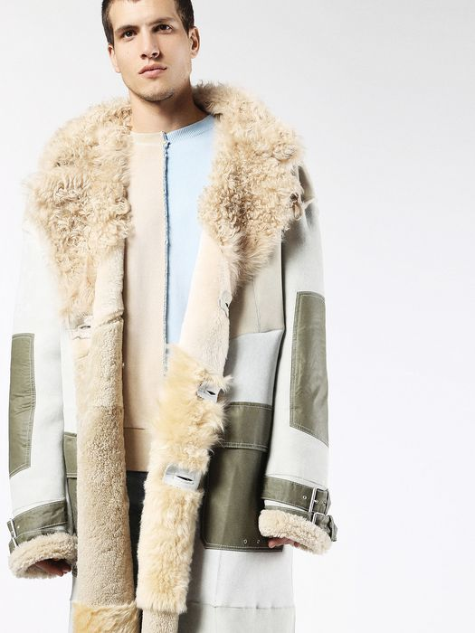 Diesel Fur Coat AW16