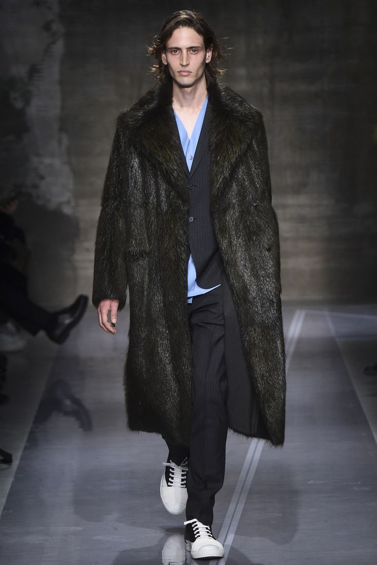 Marni AW16 Fur Coat