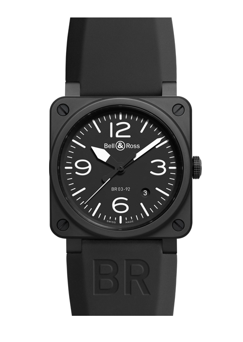 Bell & Ross black watch for men