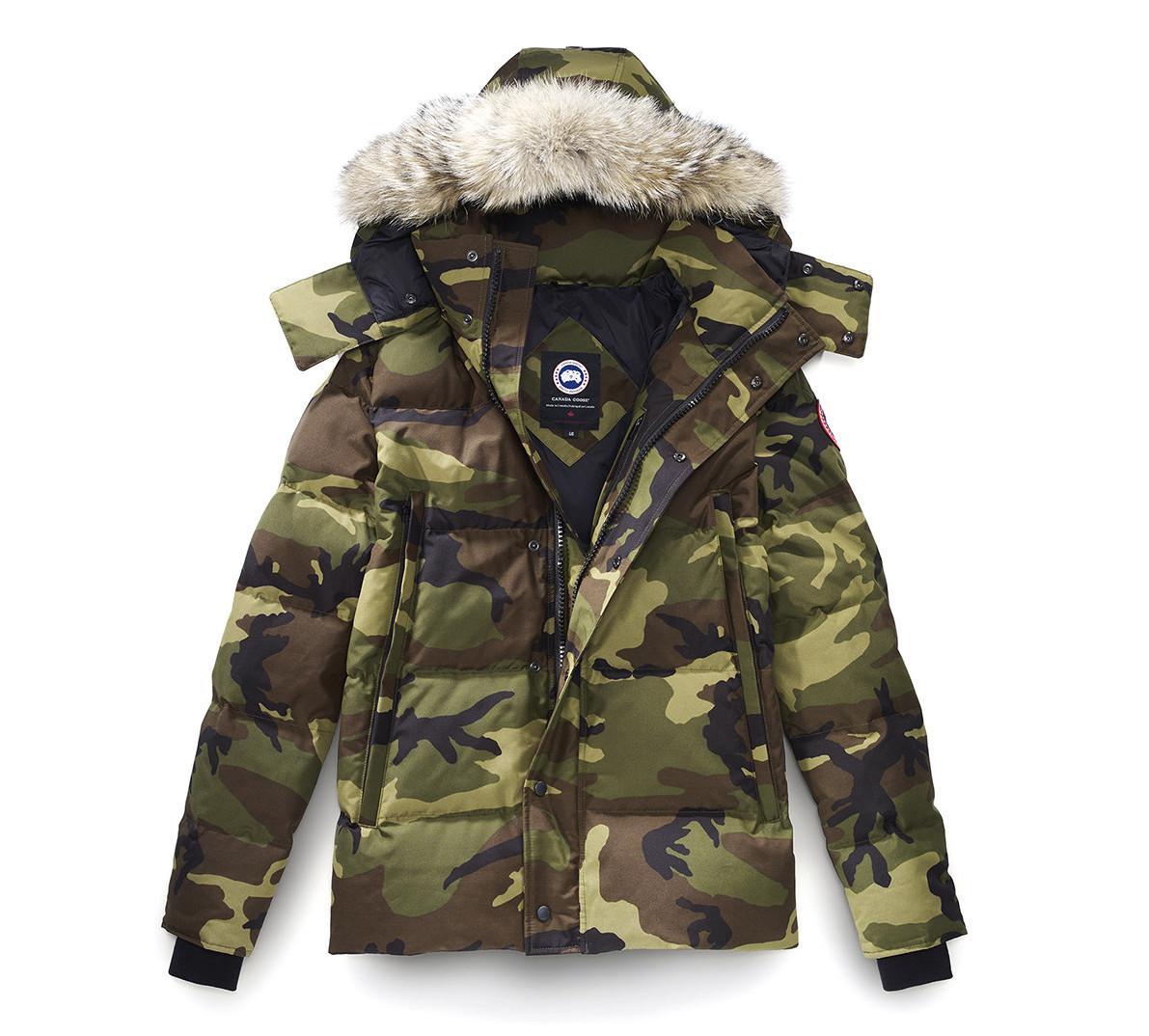 Camouflage Canada Goose Jacket