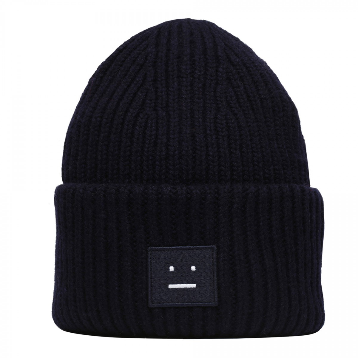 Black Acne Winter Beanie