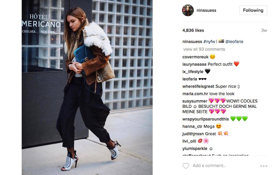 Nina Suess Instagram