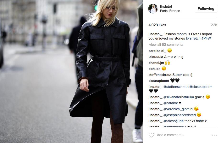 Linda Tol Instagram