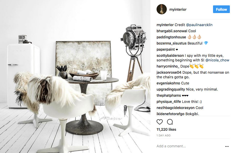myinterior Instagram Account