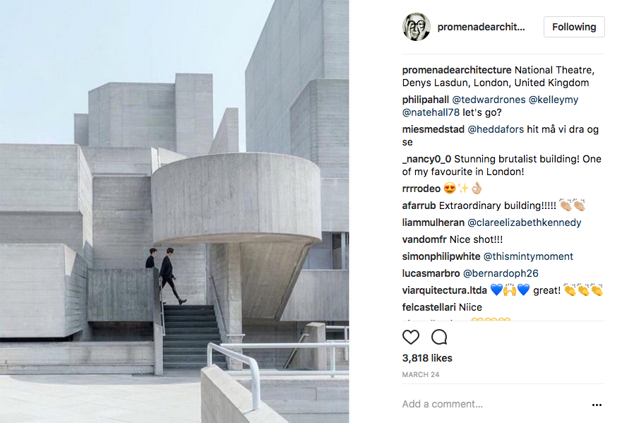 promenadearchitecture Instagam Account