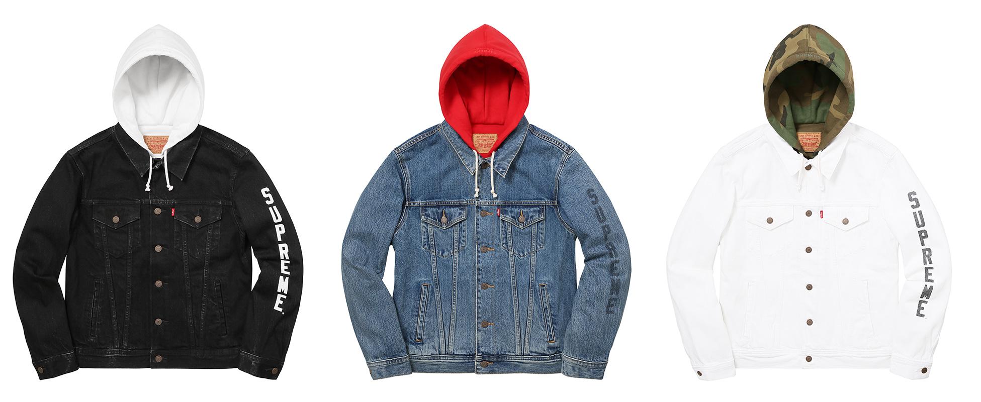 Supreme X Levi's Denim Jackets