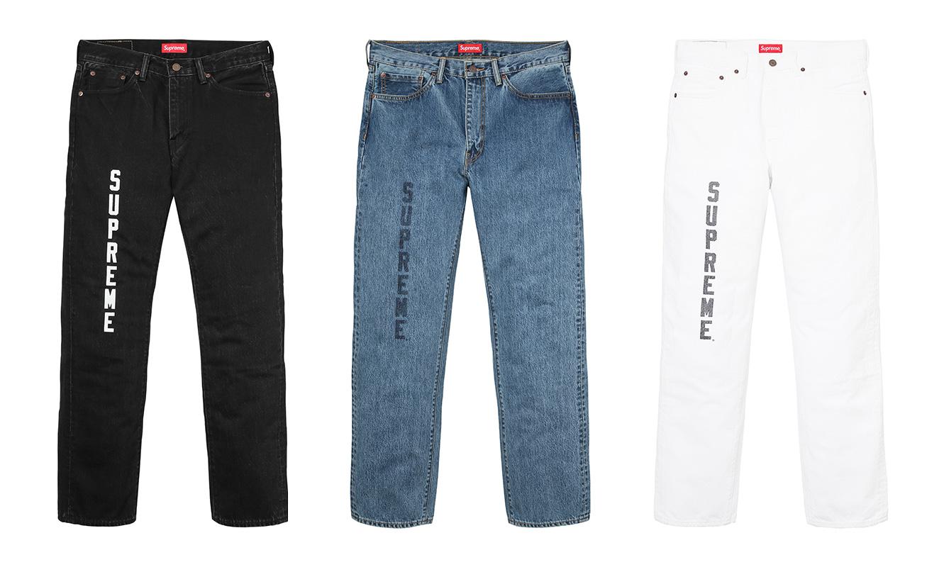 Supreme X Levi's Jeans