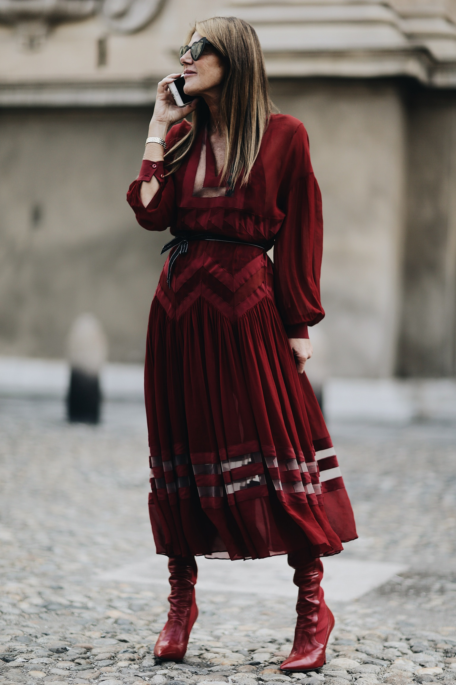 Street Style Milan Fashion Week SS18: Anna Dello Russo