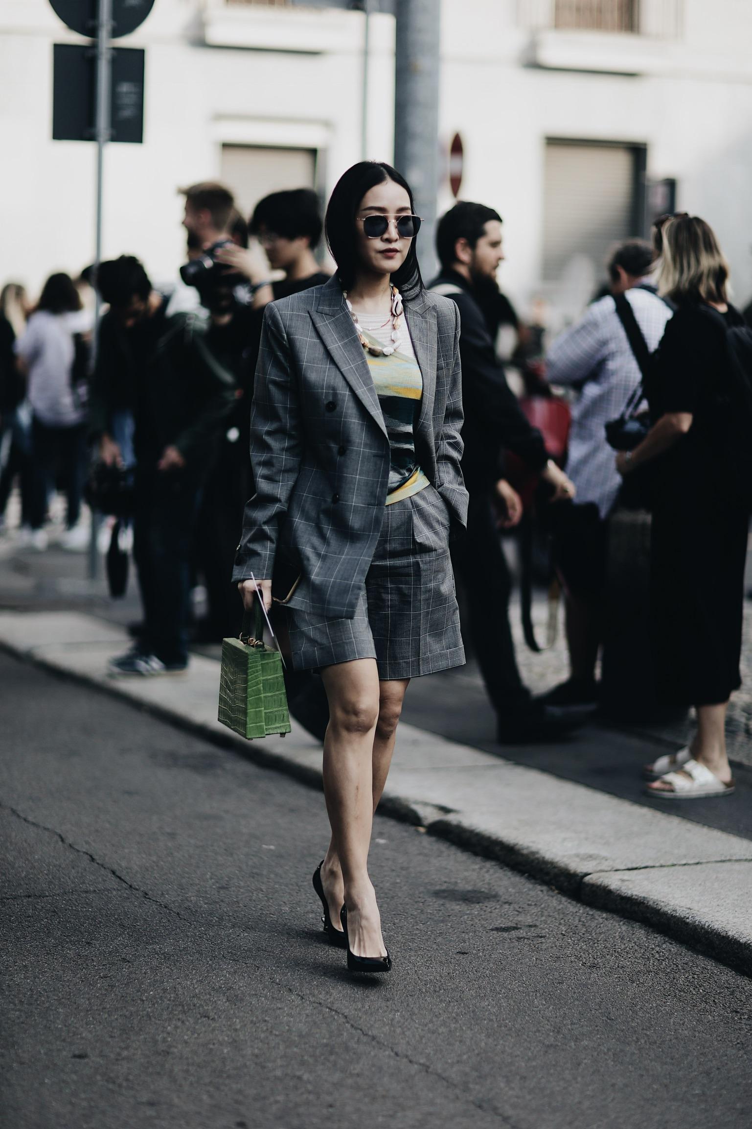 Street Style Milan Fashion Week SS18: