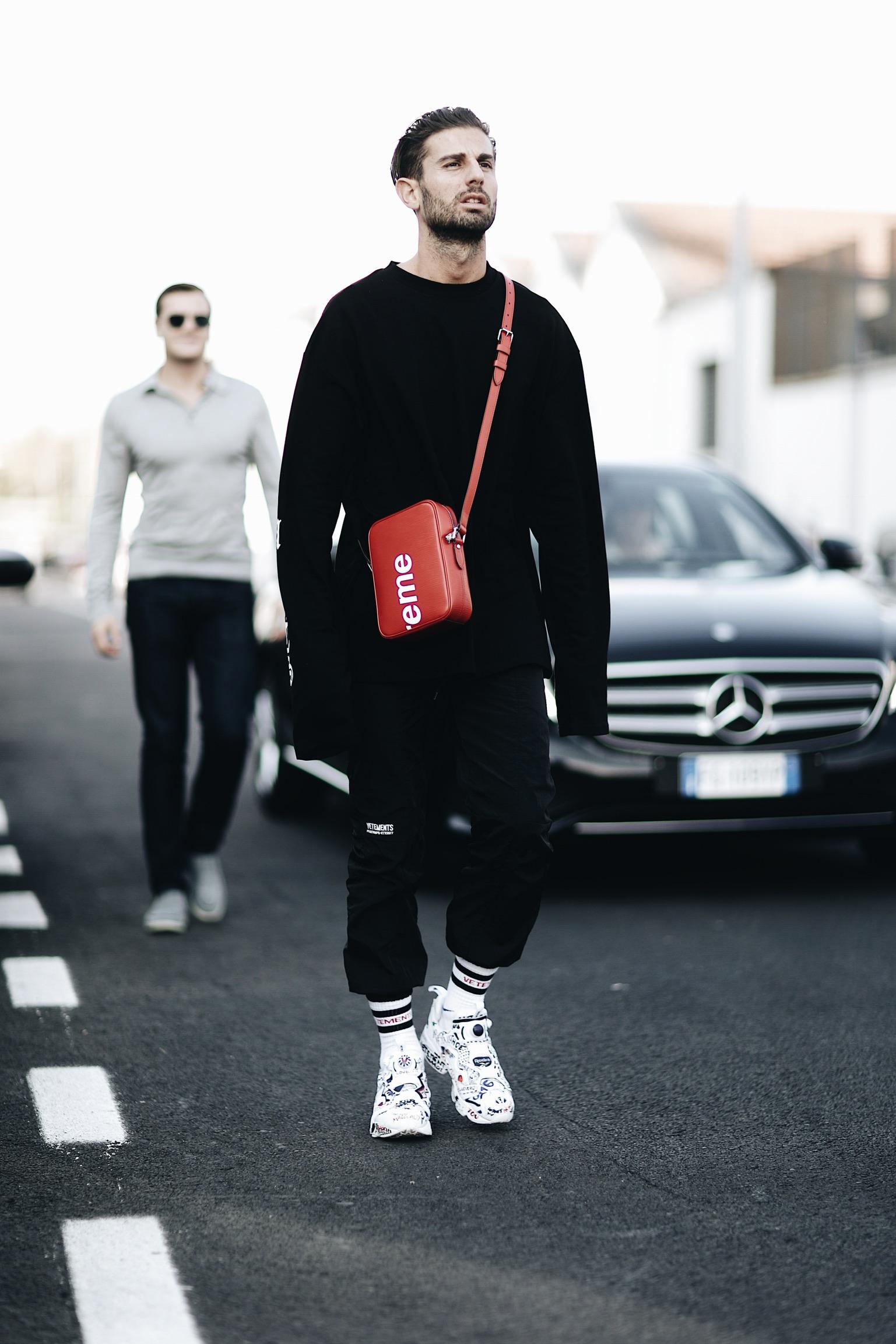 Street Style Milan Fashion Week SS18