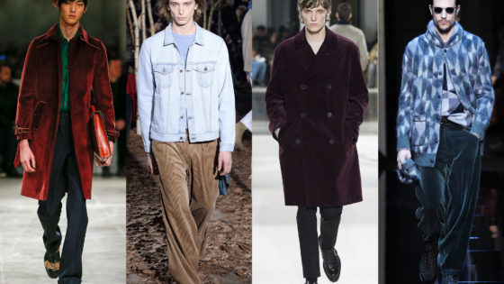 Fall/Winter 17 Trend: Cord (Corduroy)