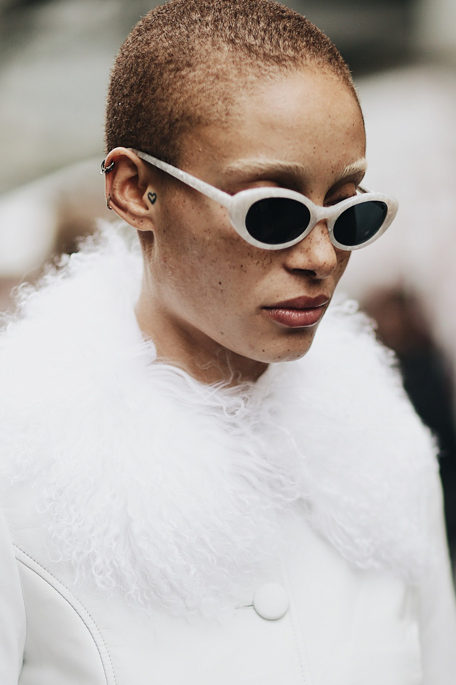 Street Style during Paris Fashion Week: Adwoa Aboah