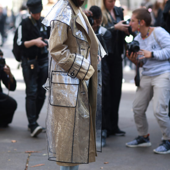 Street Style during Paris Fashion Week