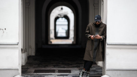 Street Style Men - Boxy Look