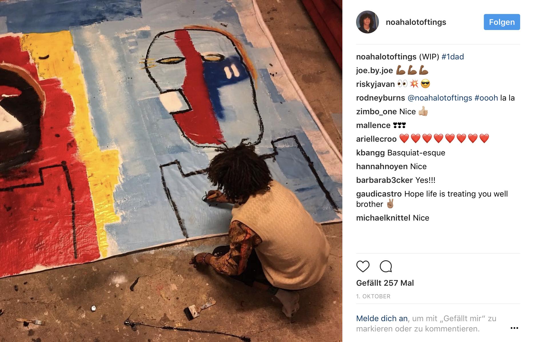 Noah Becker Instagram