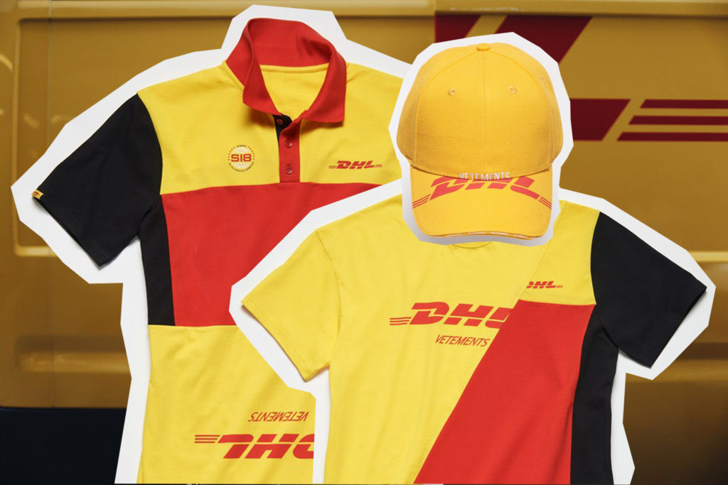 DHL X Vetements Capsule Collection
