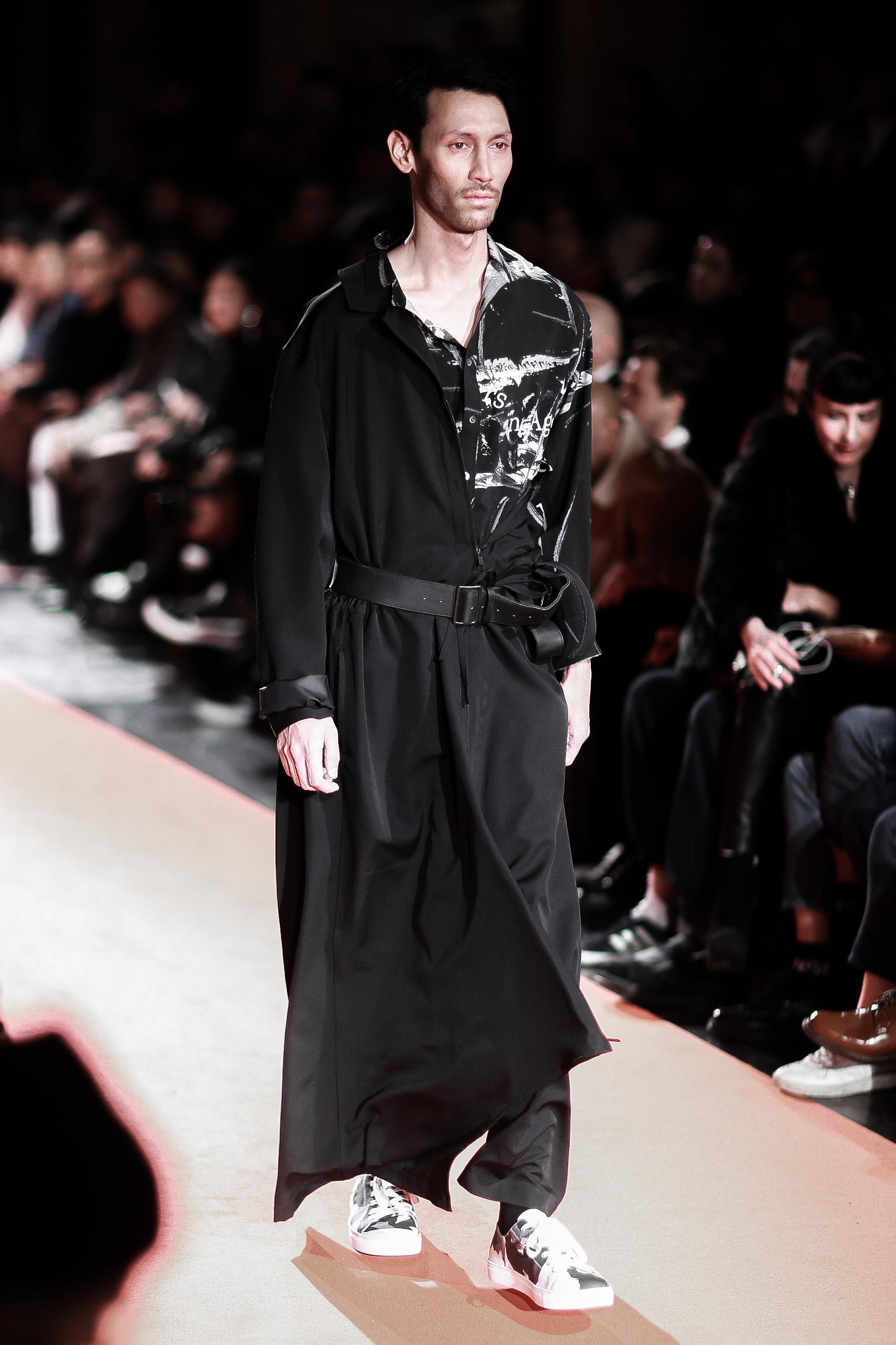 Japanische Designer auf der Paris Fashion Week: Yohji Yamamoto