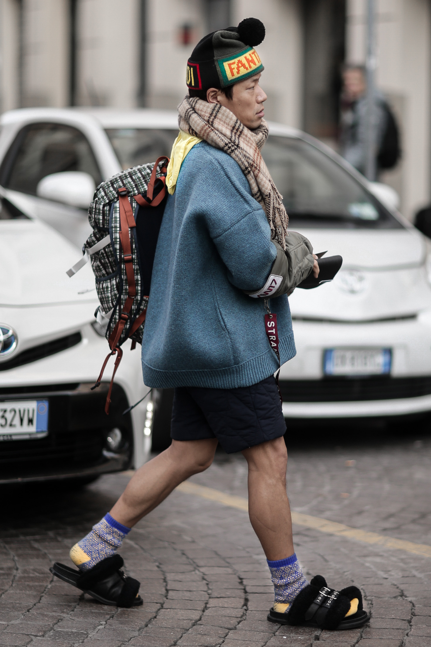 Street Style from Milan Fashion Week AW18