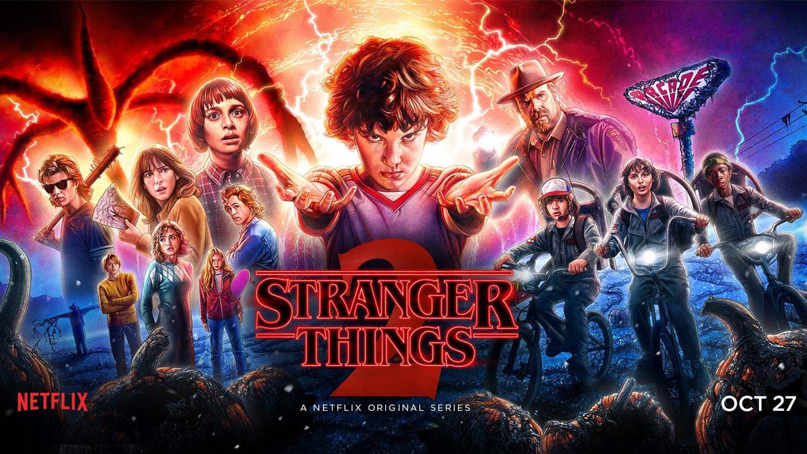 Die stylischsten Netflix Serien: Stranger Things