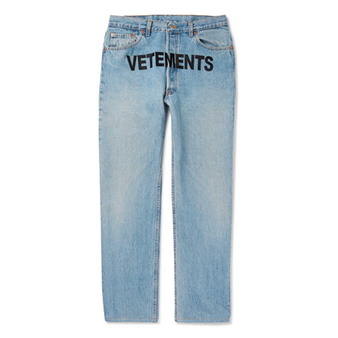 Vetements X Levi's Logo Reworked Denim