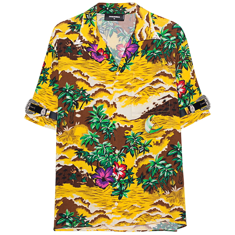 Dsquared2 Hawaii Shirt