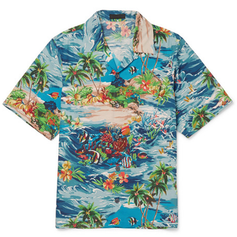 Prada Hawaii Shirt