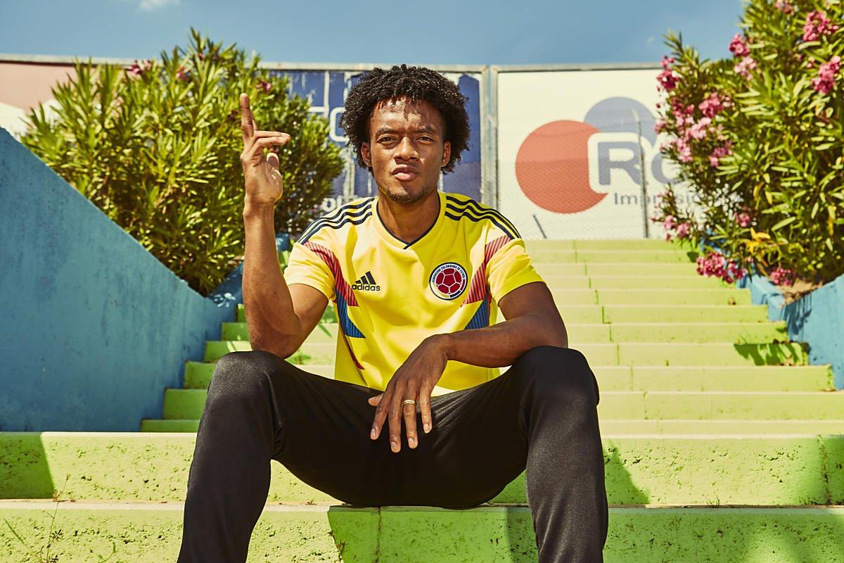 Die besten WM-Trikots 2018: Kolumbien