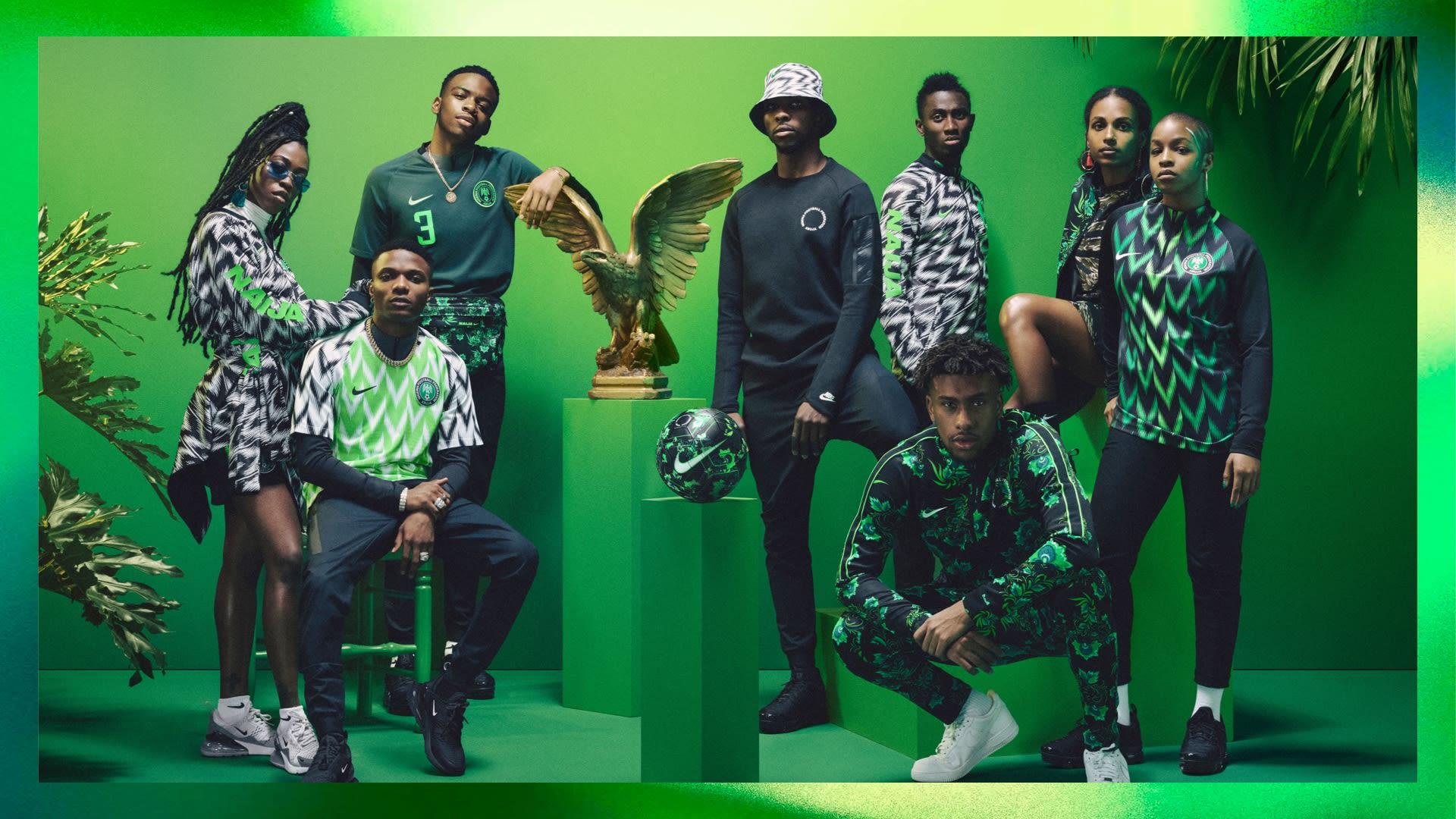 Die besten WM-Trikots 2018: Nigeria