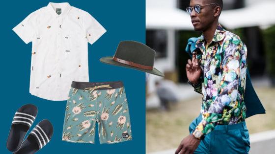 Beach-Look für Männer