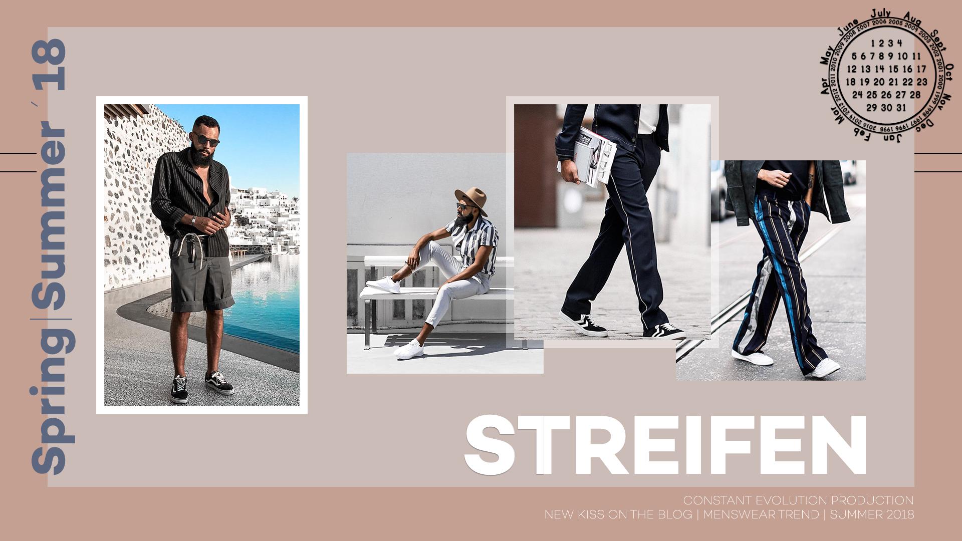 Modetrend 2018: Streifen