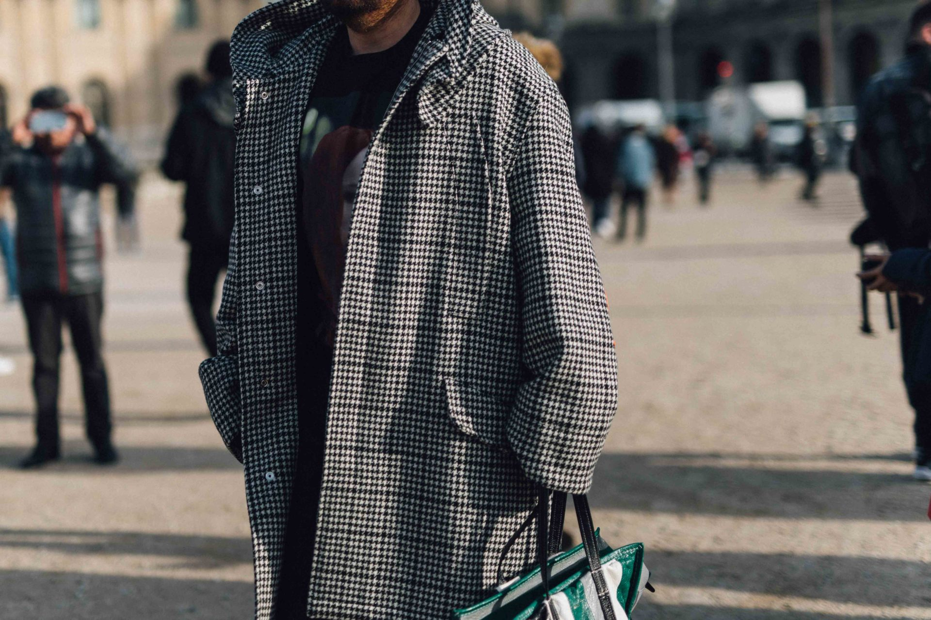 Street Style at Men's Fashion Week Paris AW19
