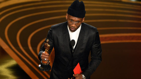 Mahershala Ali's Oscar Hat from Gigi Burris