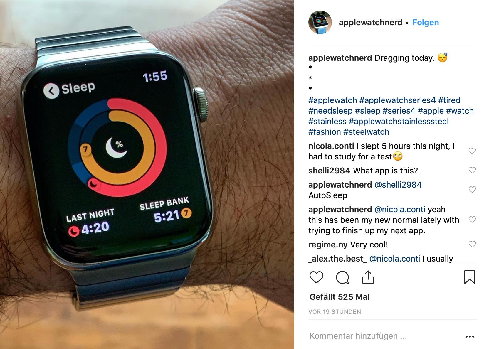 TOP 5 UHREN-MODELLE FÜR NEUEINSTEIGER: Apple Watch Series 4