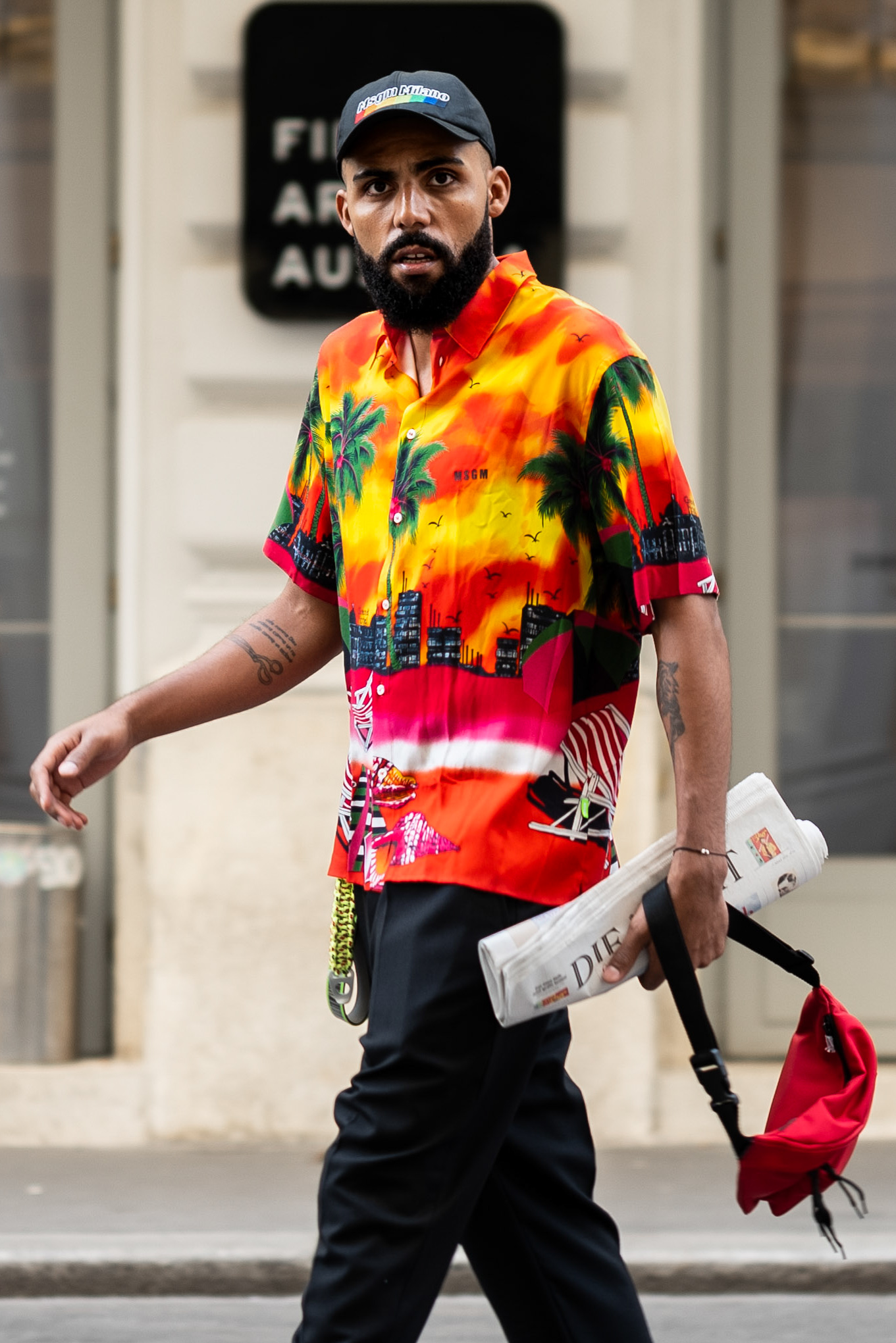 SS19 Trend: Printed Shirts Street Style