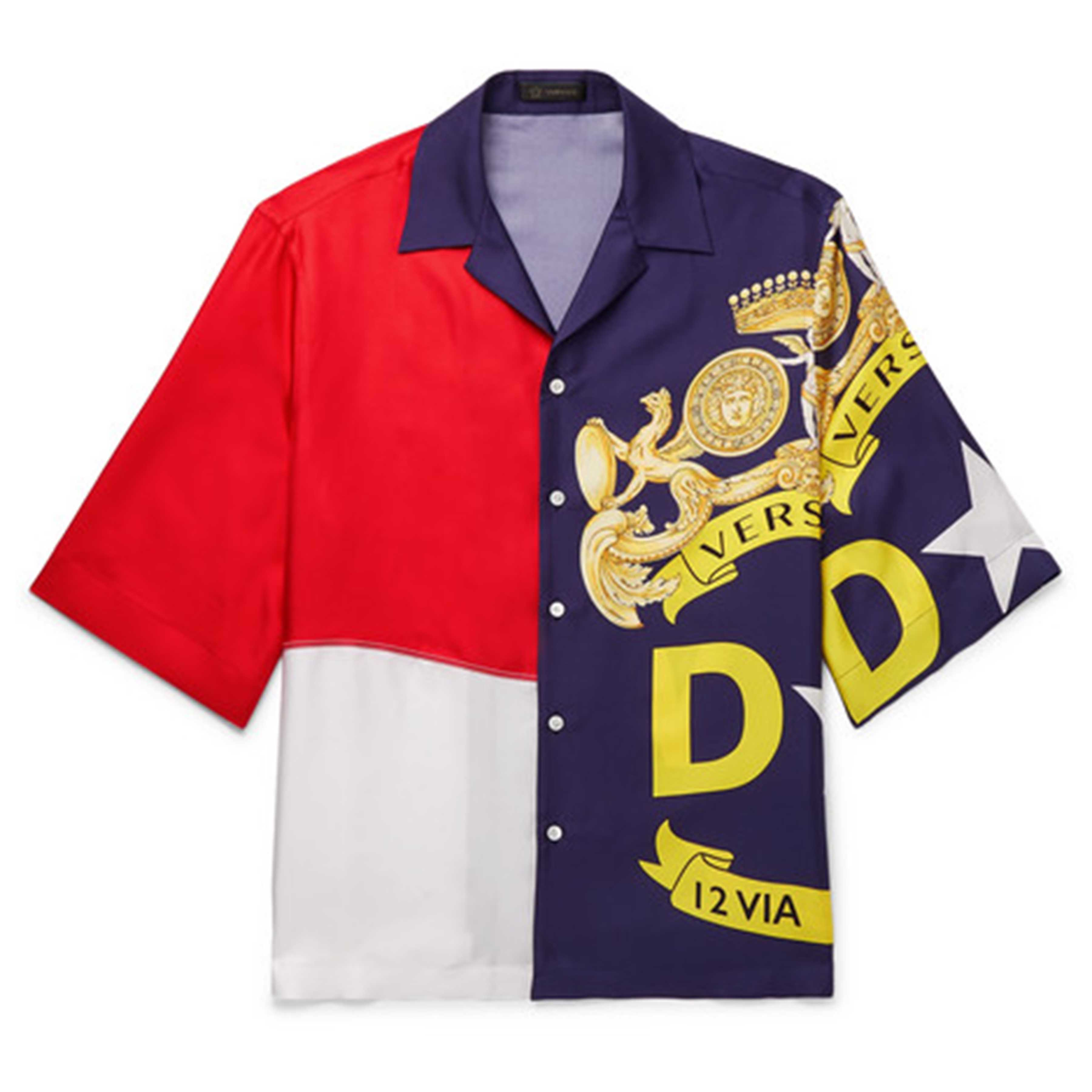 SS19 Printed Shirts: VERSACE