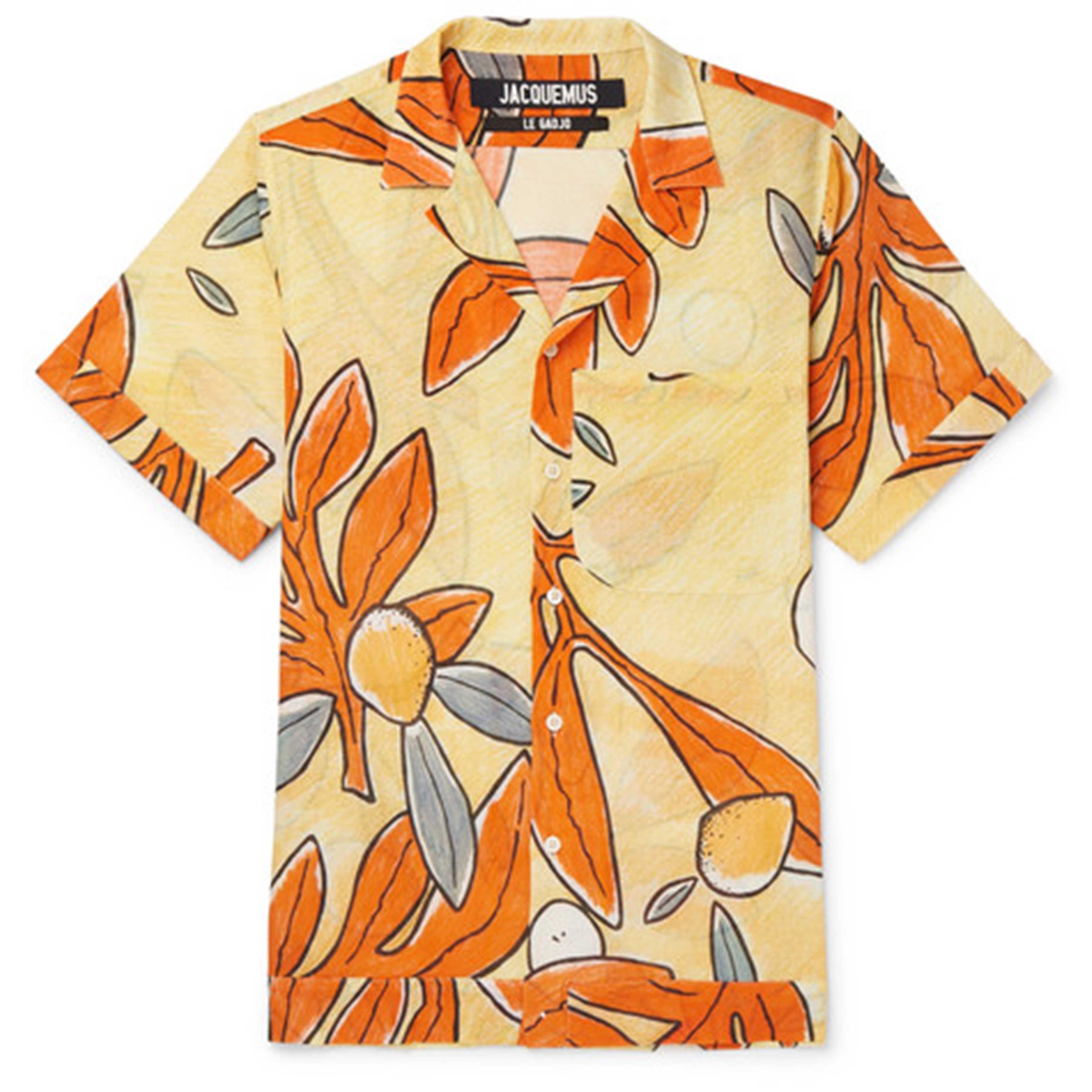 SS19 Printed Shirts: Jacquemus