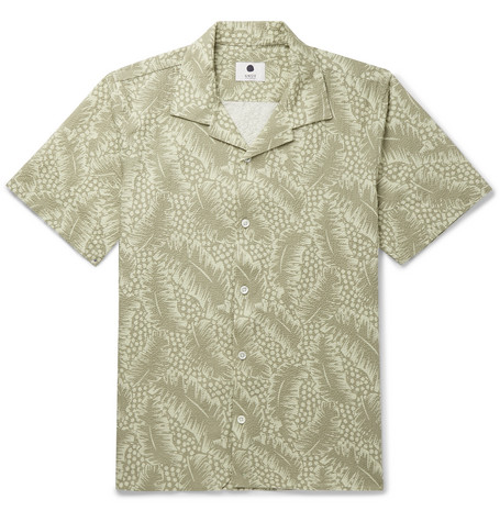 NN07 printed shirt from MR PORTER