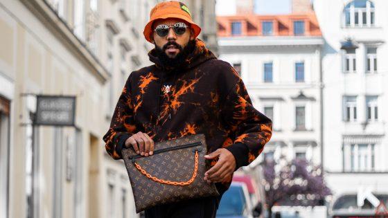 Männerhandtasche für Männer