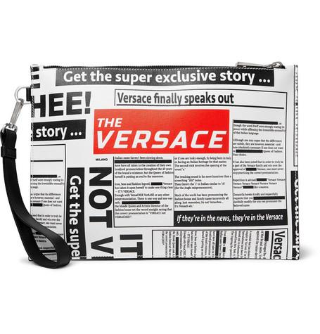 Männerhandtasche von Versace
