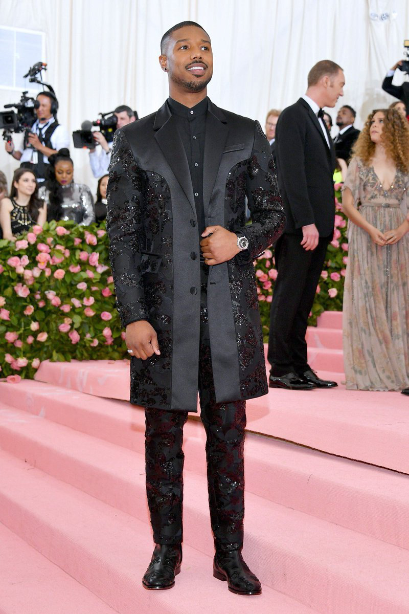 Best dressed men at Met Gala 2019: Michael B. Jordan