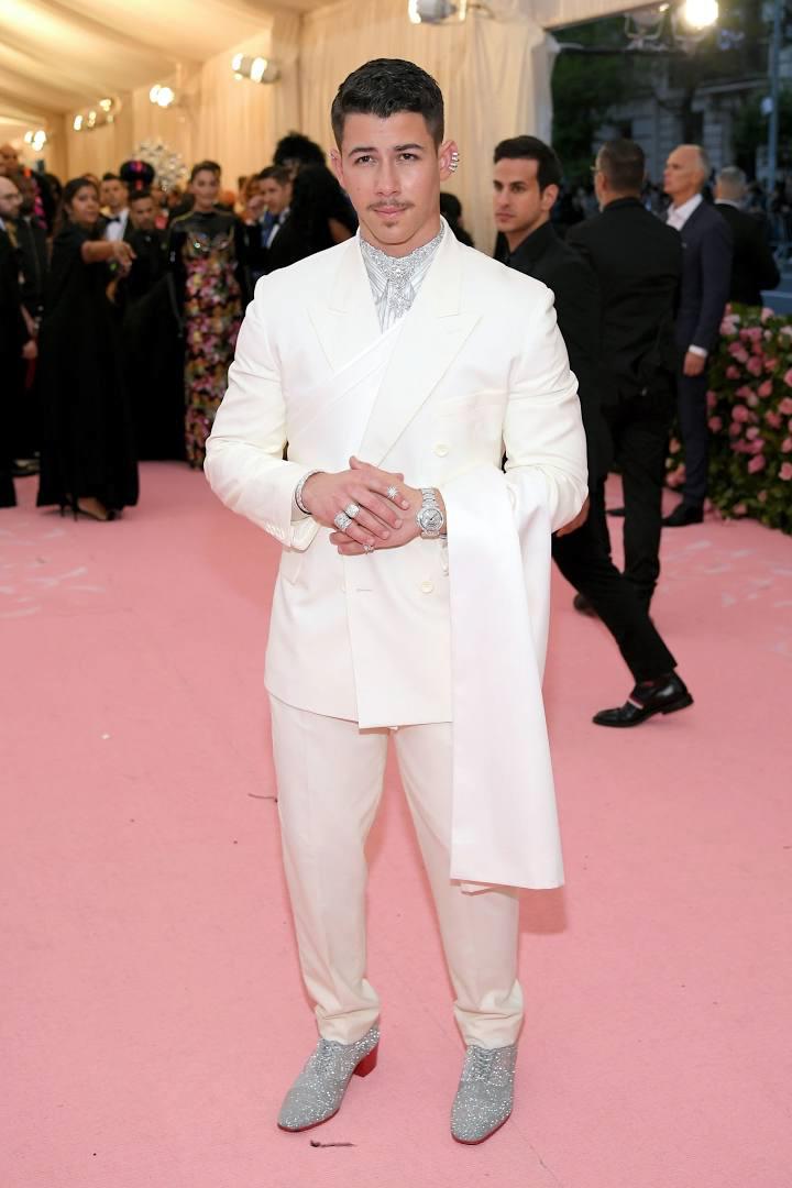 Best dressed men at Met Gala 2019: Nick Jonas