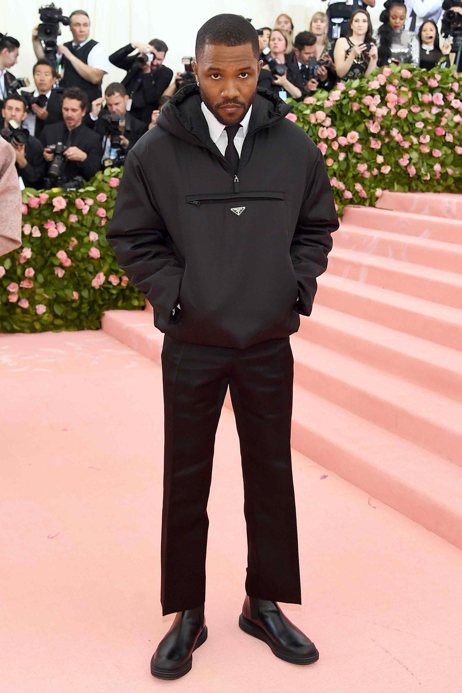 Best dressed men at Met Gala 2019: Frank Ocean