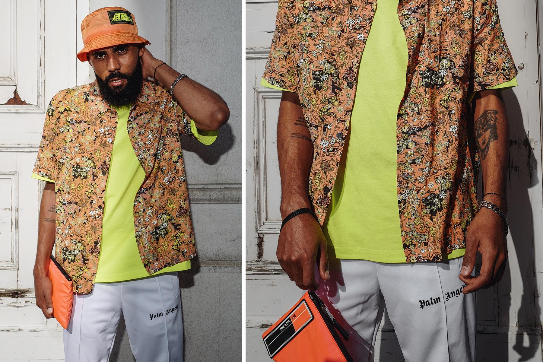 Voll im Trend: Hemden mit Print