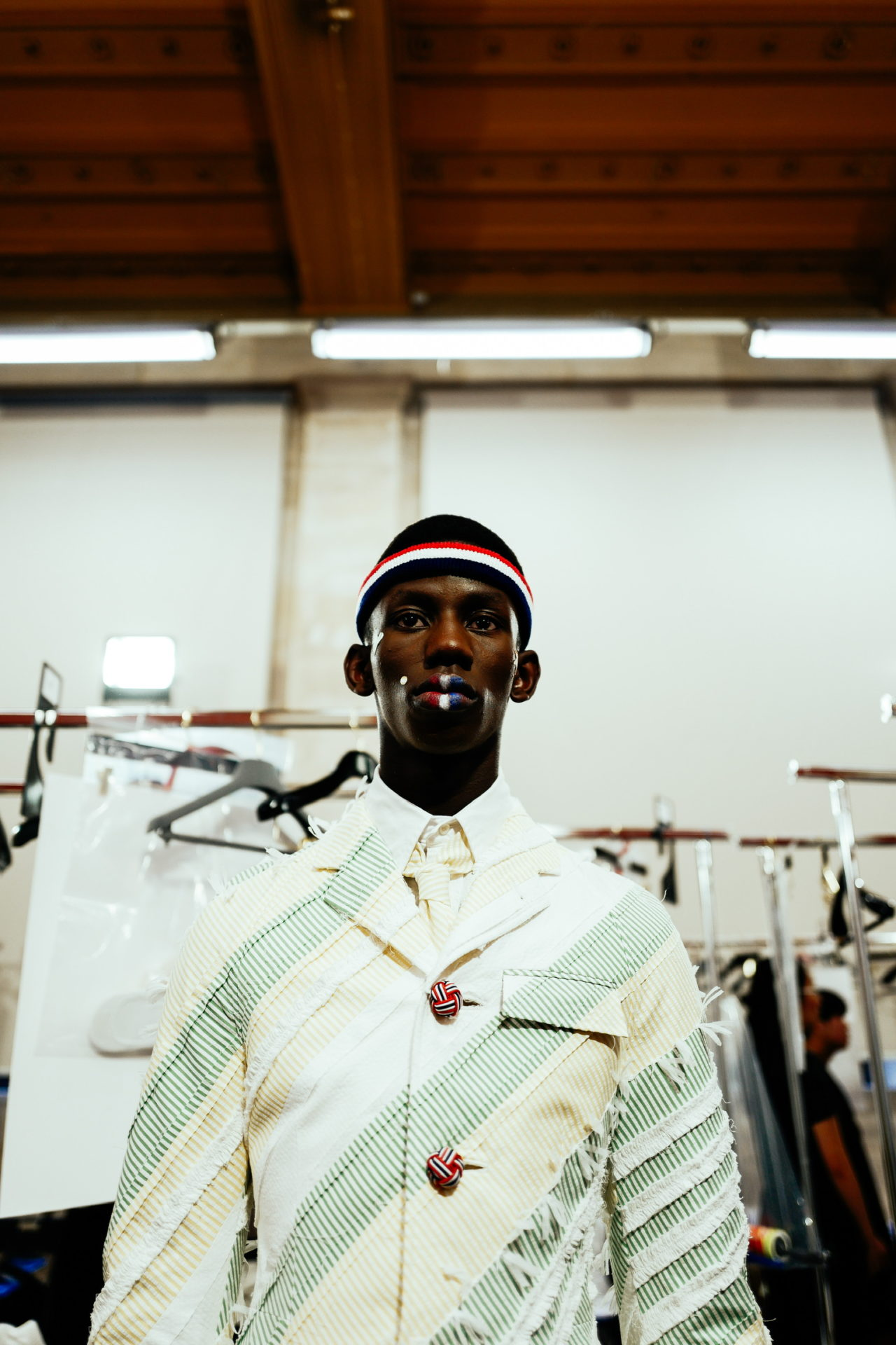 Paris Fashion Week Men's: Backstage at Thom Browne SS20