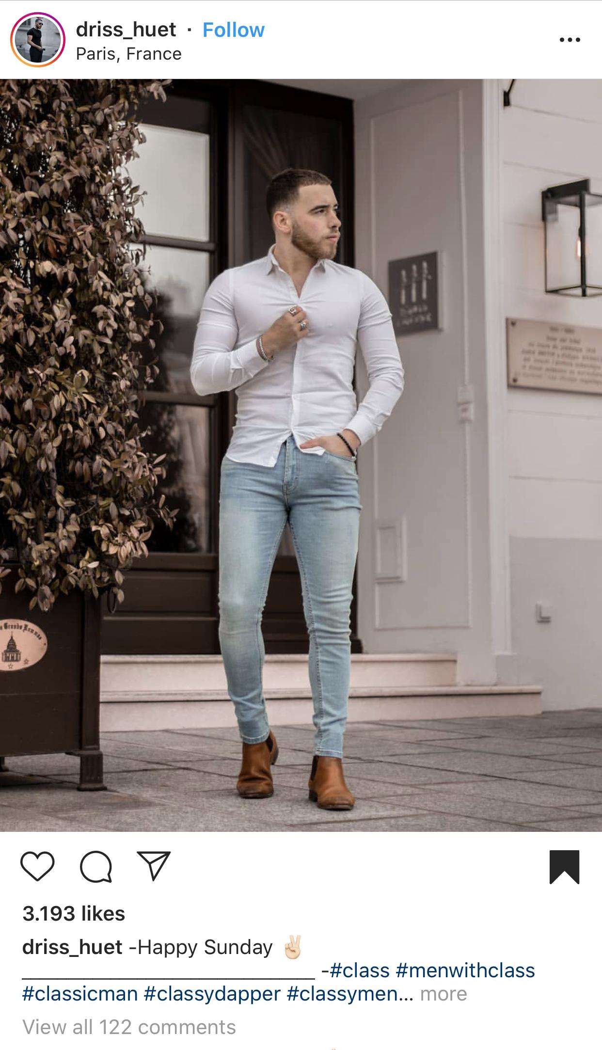 Modesünden bei Männern