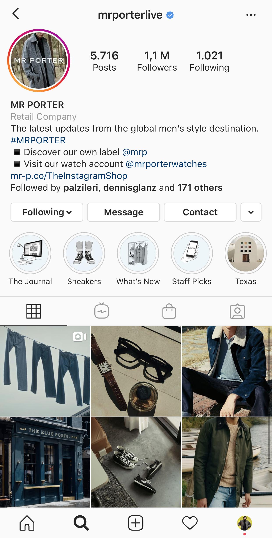 Die besten Männermode Instagram Accounts